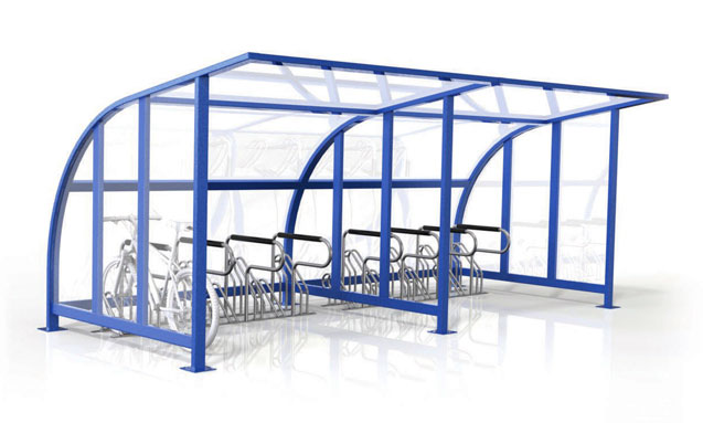 Bike Cages, Lockers and Shelters